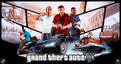 """Grand Theft Auto V Poster"" by Ferino Designs"